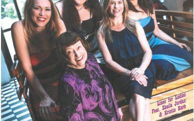 Jazz Podium Cover Celebrates Lines for Ladies Tour