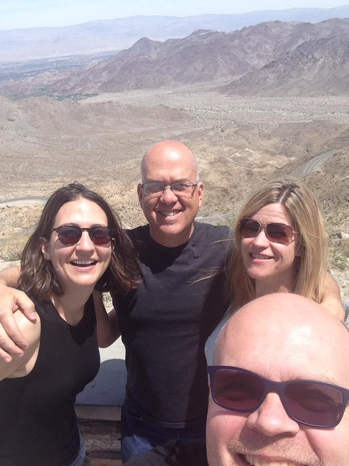 Band in the desert
